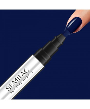 Semilac One Step gél lak S890 Midnight Blue