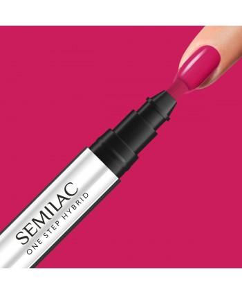 Semilac One Step gél lak S680 Magenta
