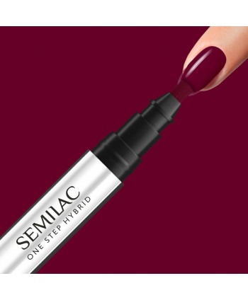 Semilac One Step gél lak S580 Crimson