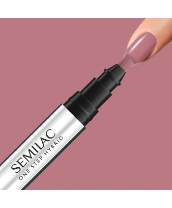 Semilac One Step gél lak S240 Peach Beige