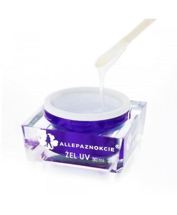 Allepaznokcie stavebný uv gél clear 30 ml