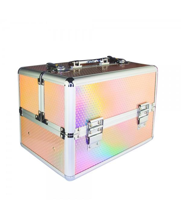 Kosmetický kufřík Unicorn růžový 603-10