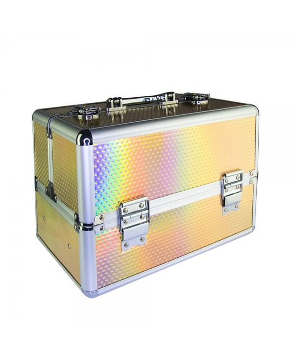 Kosmetický kufřík Unicorn růžový 603-13
