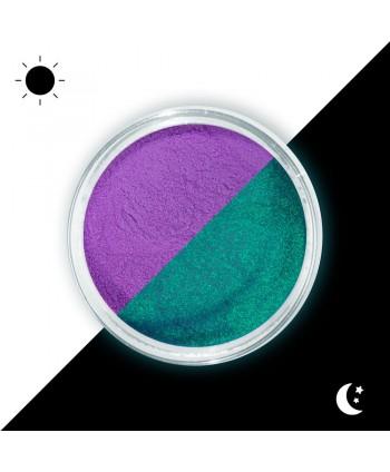 Prášok Lumino - svietiaci v tme 09