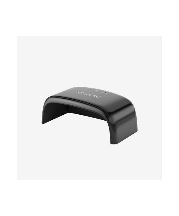 Semilac mini UV / Led lampa -12W černá Černá