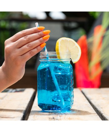 Semilac - gél lak  566 - Neon Orange
