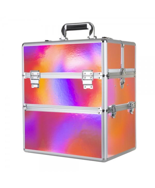 Dvoudílný kosmetický kufřík Holo 07