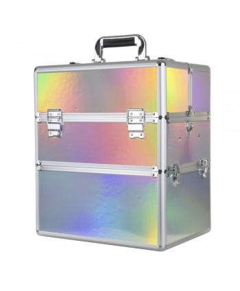 Dvojdielny kozmetický kufrík Holo 01