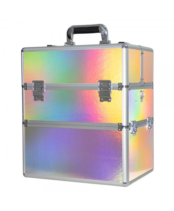 Dvoudílný kosmetický kufřík Holo 09