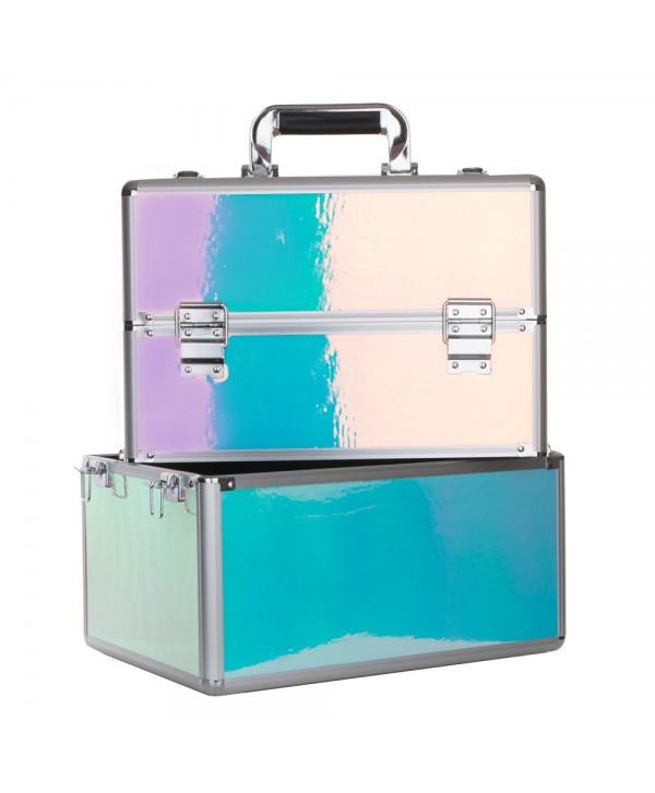 Dvoudílný kosmetický kufřík Holo 21