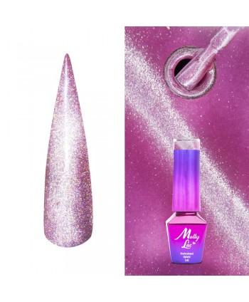 443. MOLLY LAC gél lak -Cat Eye Amethyst  5ml