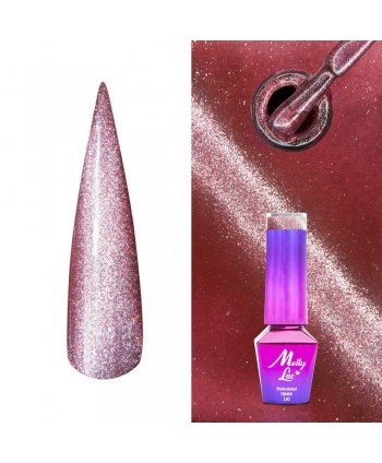 440. MOLLY LAC gél lak -Cat Eye Kissing  5ml