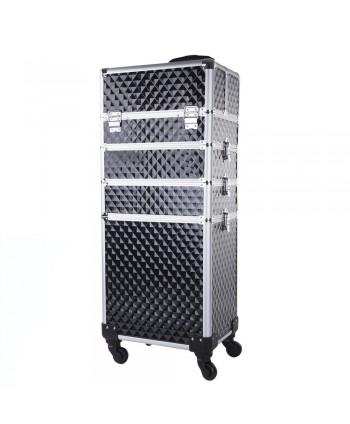 Kozmetický kufrík veľký 4v1 Diamond 02