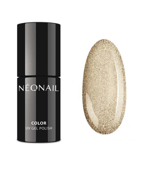 Neonail gel lak - Shining Ring 7,2ml Zlatá