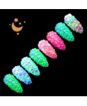 Zirkónové kamienky Night Glow 04 Mix 250ks