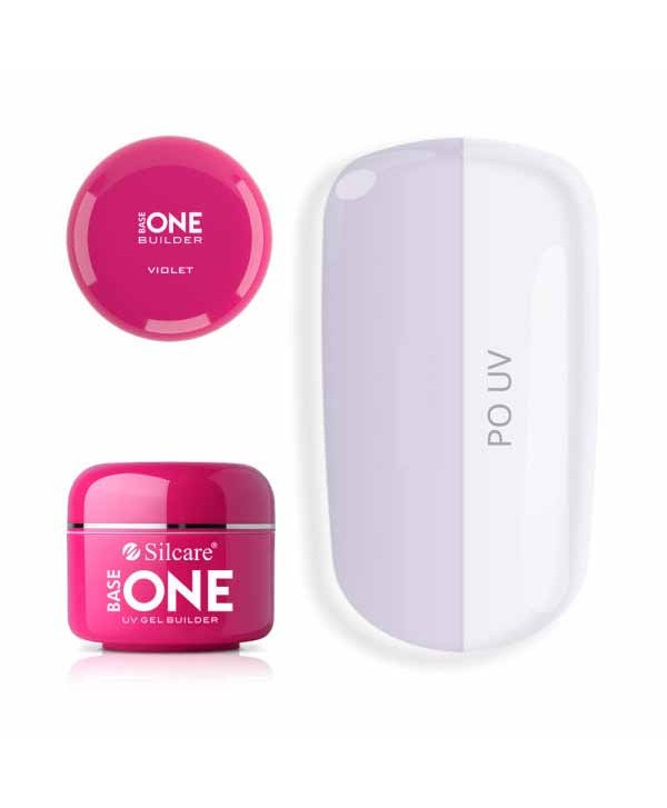 Base one UV gél  clear Violet 5g