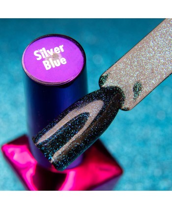 Molly Lac Top coat Magic Mood Silver Blue 5ml