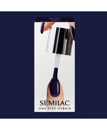 Semilac One Step gél lak S890 Midnight Blue 5ml