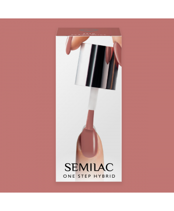 Semilac One Step gél lak S240 Peach Beige 5ml