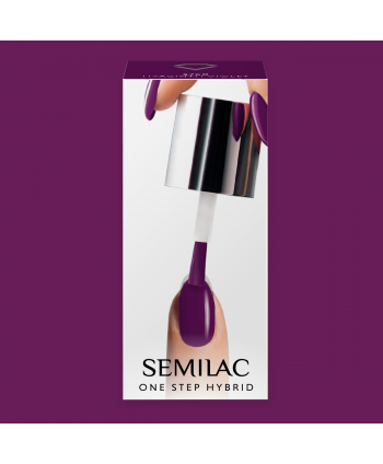 Semilac One Step gél lak S760 Hyacinth Violet 5ml