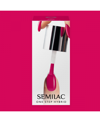 Semilac One Step gél lak S685 Pink Purple 5ml