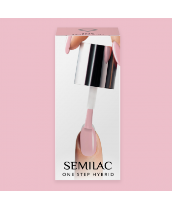 Semilac One Step gél lak S610 Barely Pink 5ml