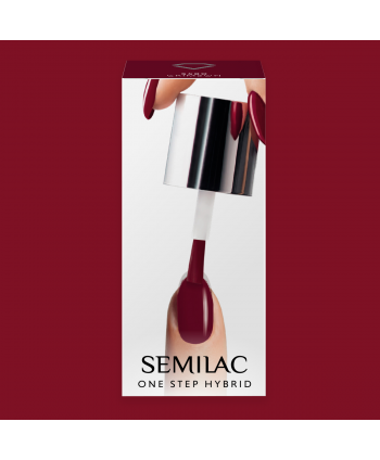 Semilac One Step gél lak S580 Crimson 5ml