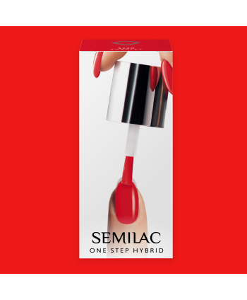 Semilac One Step gél lak S530 Scarlet 5ml