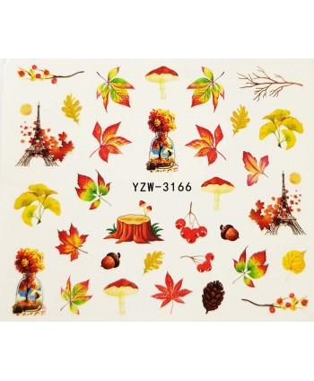 Vodonálepky na nehty podzim...