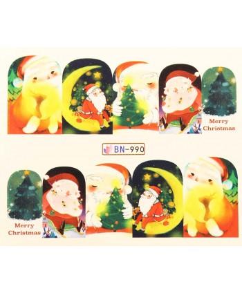 Vianočná vodolepka X-mas BN990