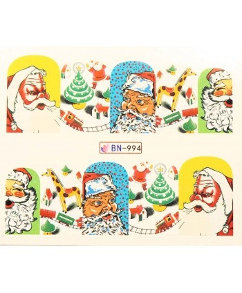 Vánoční Vodolepky X-mas BN994