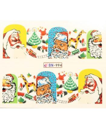 Vianočná vodolepka X-mas BN994