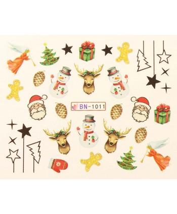 Vánoční Vodolepky X-mas BN1011