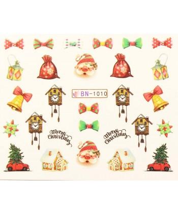 Vánoční Vodolepky X-mas BN1010