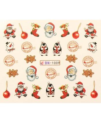Vánoční Vodolepky X-mas BN1009