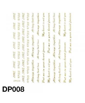 Nálepky na nehty DP008