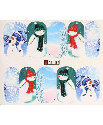 Vianočná vodolepka X-mas A1184