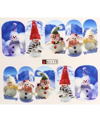 Vianočná vodolepka X-mas A1179