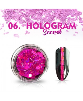 Hologram Secret 06 - růžové