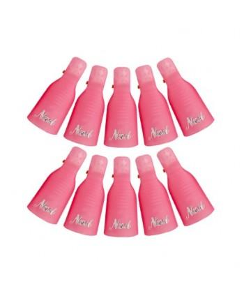 Ružové klipsy na...