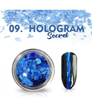 Hologram Secret 09 - modré
