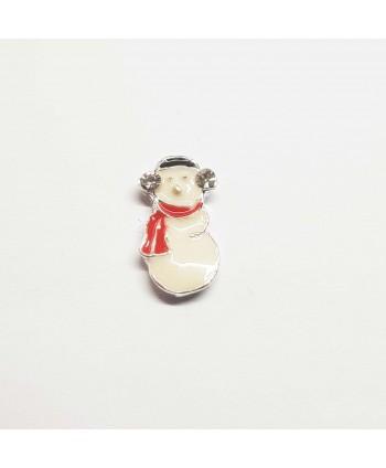 3D Snehuliak na nechty 1 ks