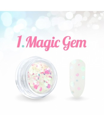 Ozdobné kolečka Magic Gem 01.