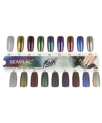 Vzorkovník SEMILAC Semiflash