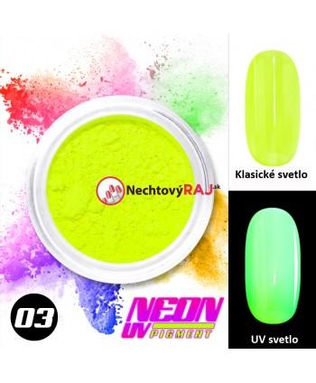 03. Neónový UV pigment