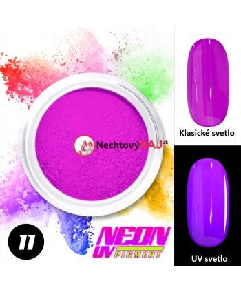 11. Neónový UV pigment