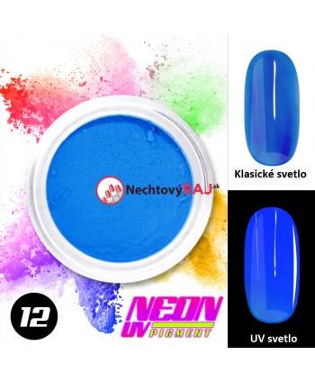 12. Neónový UV pigment