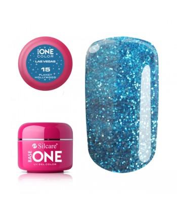 Glitrový UV gel Base one...