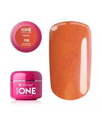 Perleťový uv gél 19 Orange...