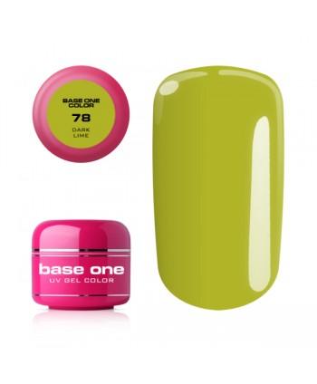 Base one barevný gel Dark...